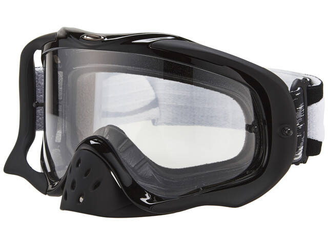 Oakley Crowbar MX Goggle jet black speed/clear